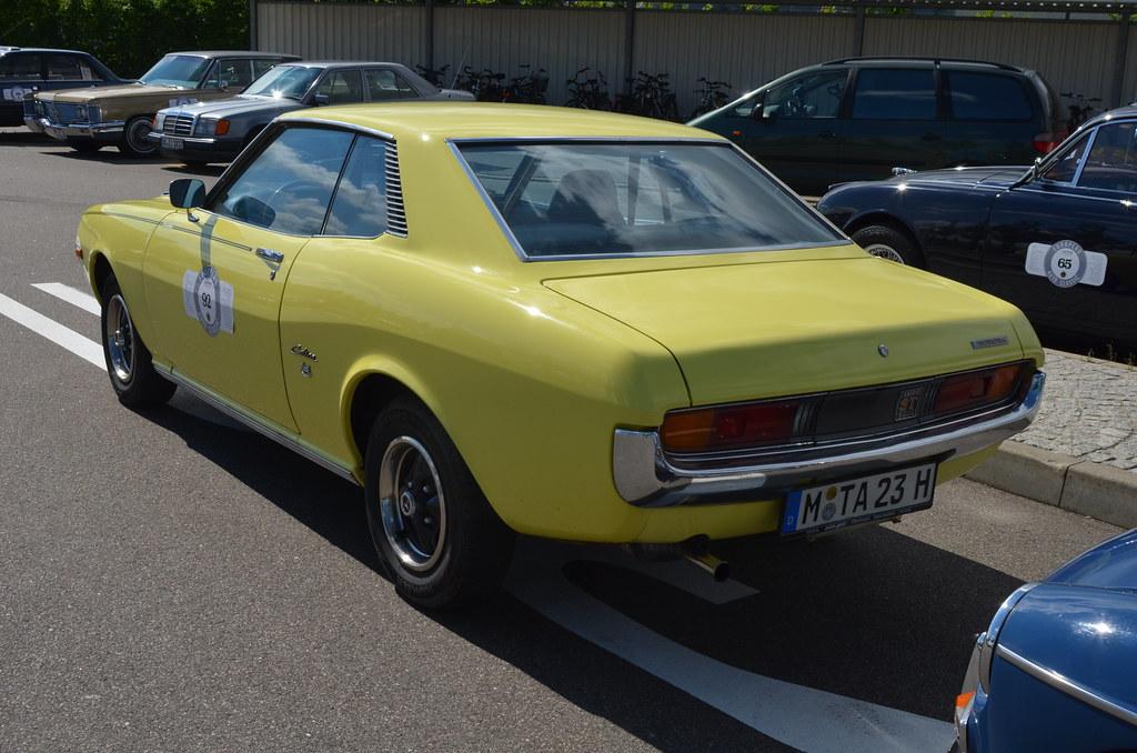 Toyota Celica Ta23 1972 1600 European Auto Classic