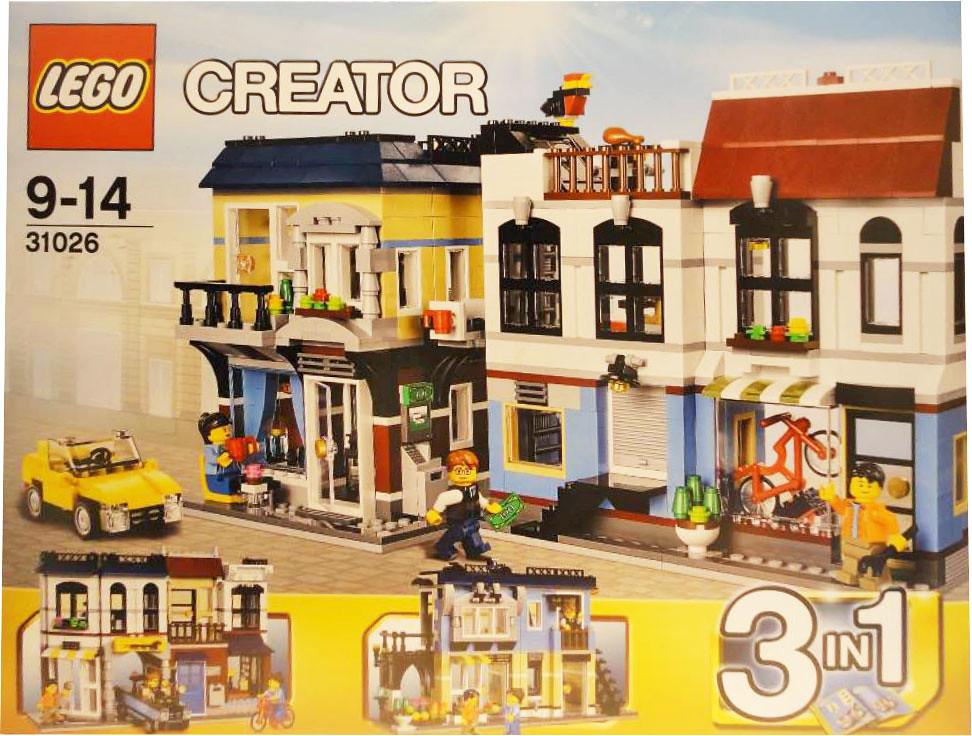 Lego Creator 31026 Bike Shop Cafe More Information
