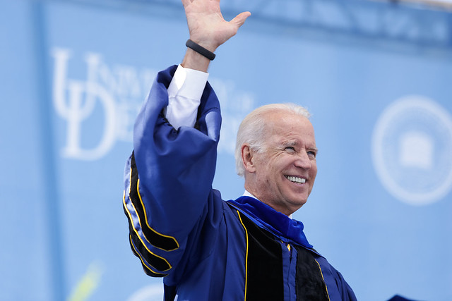 Vice President Biden partners with university