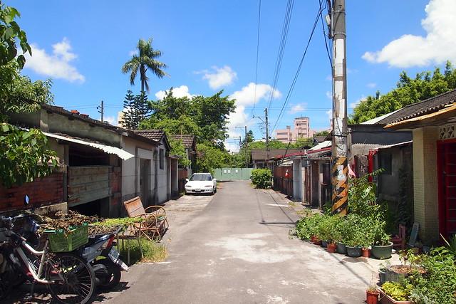 黃埔新村為全台第一個眷村,高市府推以住代護計畫,讓青年入住整修維護老屋。攝影:李育琴