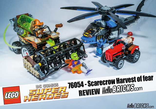 REVIEW Lego 76054 - Batman - Super Heroes - Scarecrow Harvest of Fear