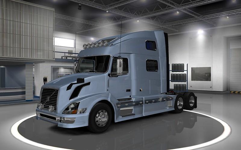 Volvo VNL 780 Reworked +Edit Skin v2 2 Ets2 - SCS Software