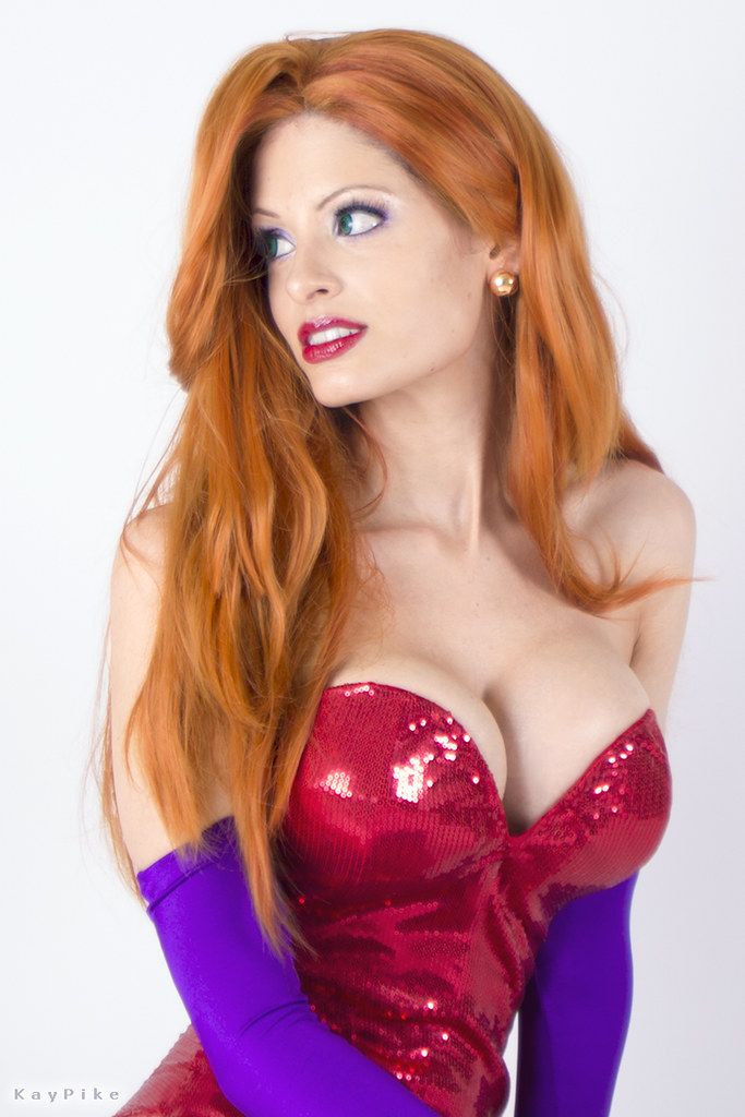 jessica rabbit costume hire perth