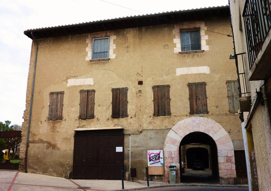 ille sur tet vieille ville restaurant du coeur thierry llansades flickr. Black Bedroom Furniture Sets. Home Design Ideas