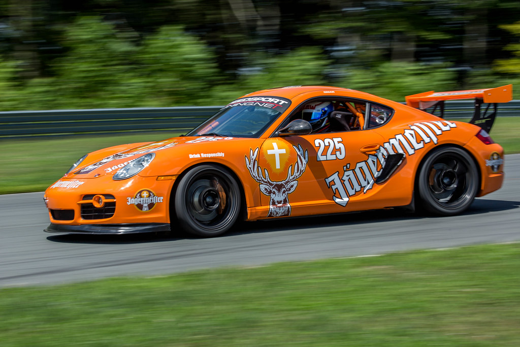 Jagermeister Porsche At Monticello Motor Club In Ny Flickr