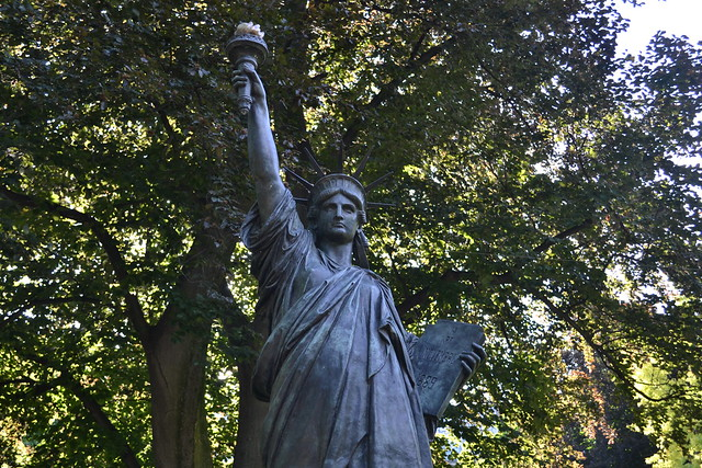 Paris Luxembourg Gardens Statue Of Liberty 3350 Flickr Photo Sharing