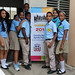 Young students from public schools participated in the Post-2015 Development Agenda National Consultation Workshop in Hermanas Mirabal province, Dominican Republic