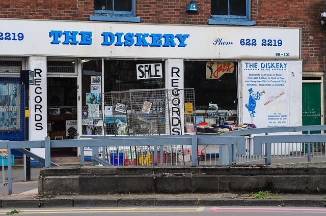 The Diskery, Birmingham, UK