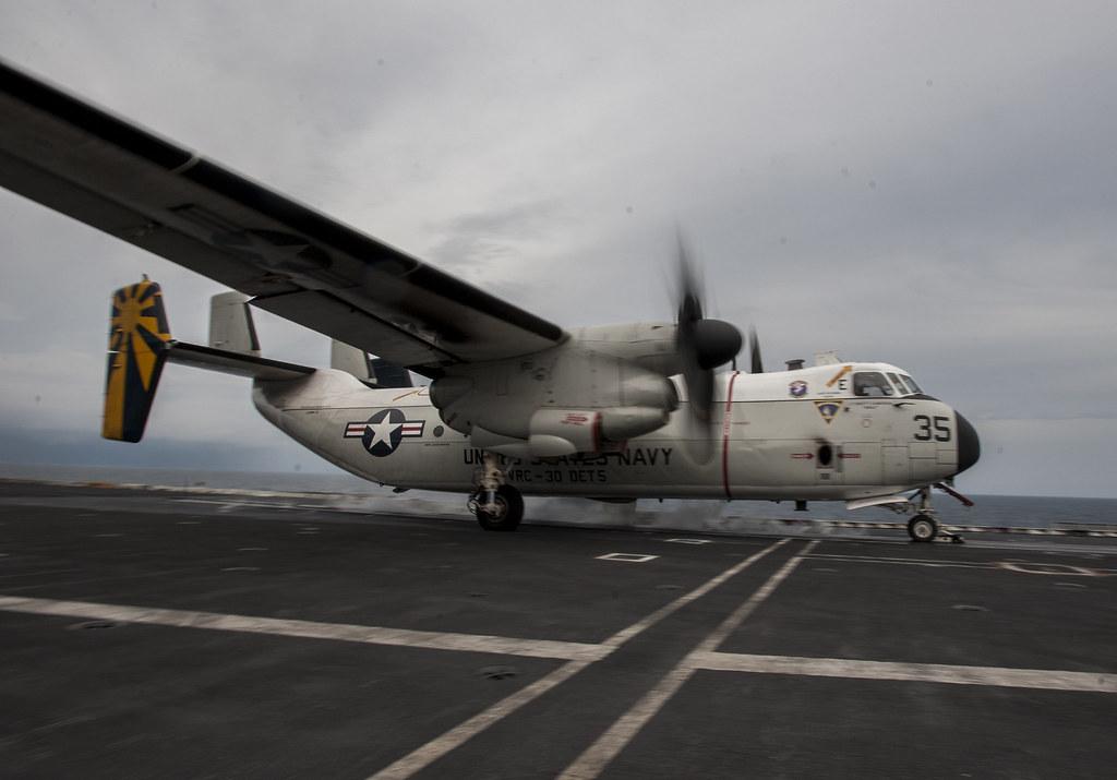 C 2a Greyhound Logistics Aircraft ... BD107-036 | PHILIP...