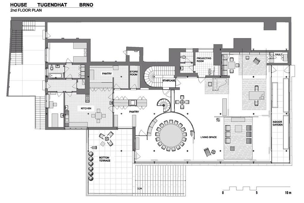 floorplan villa tugendhat villa tugendhat a 1930 project flickr. Black Bedroom Furniture Sets. Home Design Ideas