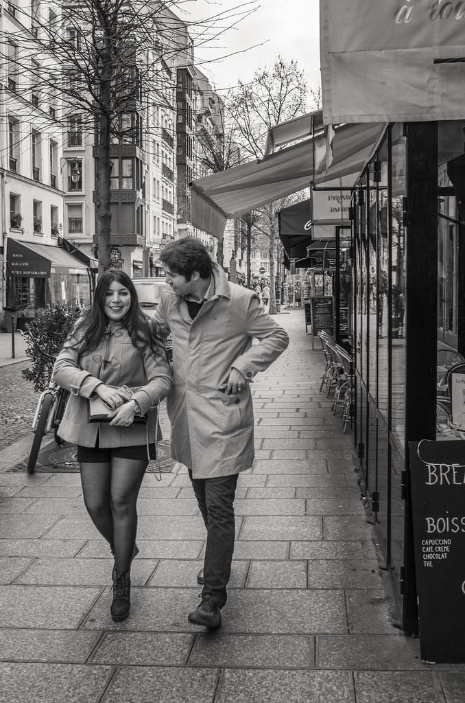 Nice couple rue rambuteau paris france 16 janv 2015 by rou flickr - Rue rambuteau paris ...