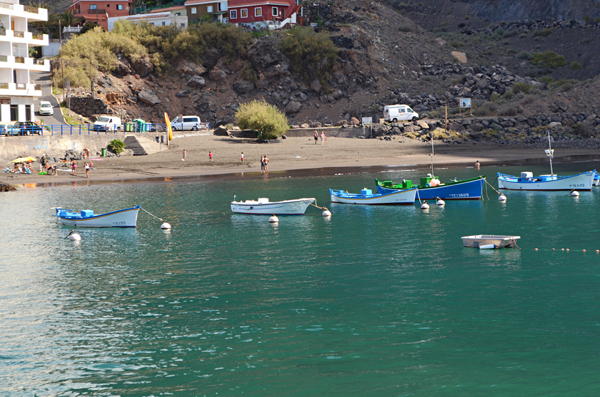 Harbour, Vueltas, Valle Gran Rey, La Gomera, Canary Islands
