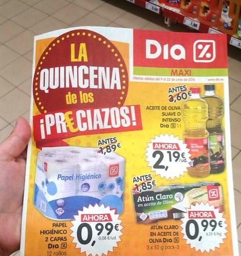 AionSur 27550348126_cf8e1cbab0_d COAG denuncia la venta a pérdidas de aceite de oliva en supermercados DIA Sin categoría