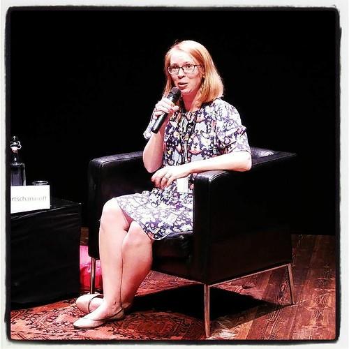 Hedersgästintervju med Maria Turtschaninoff. #swecon