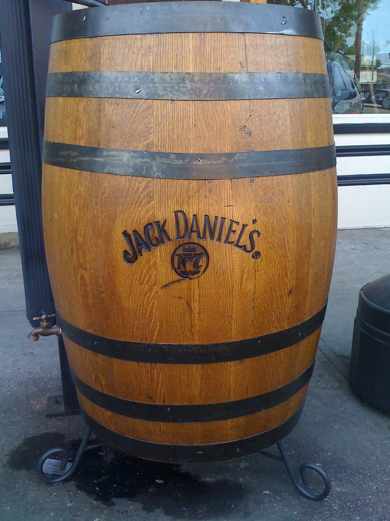 Jack Daniels Barrel Cake Tutorial