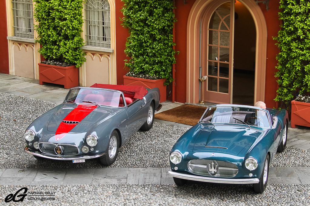 Maserati A6G/54 GT Spider & Maserati A6G/54 2000 Spider Za ...