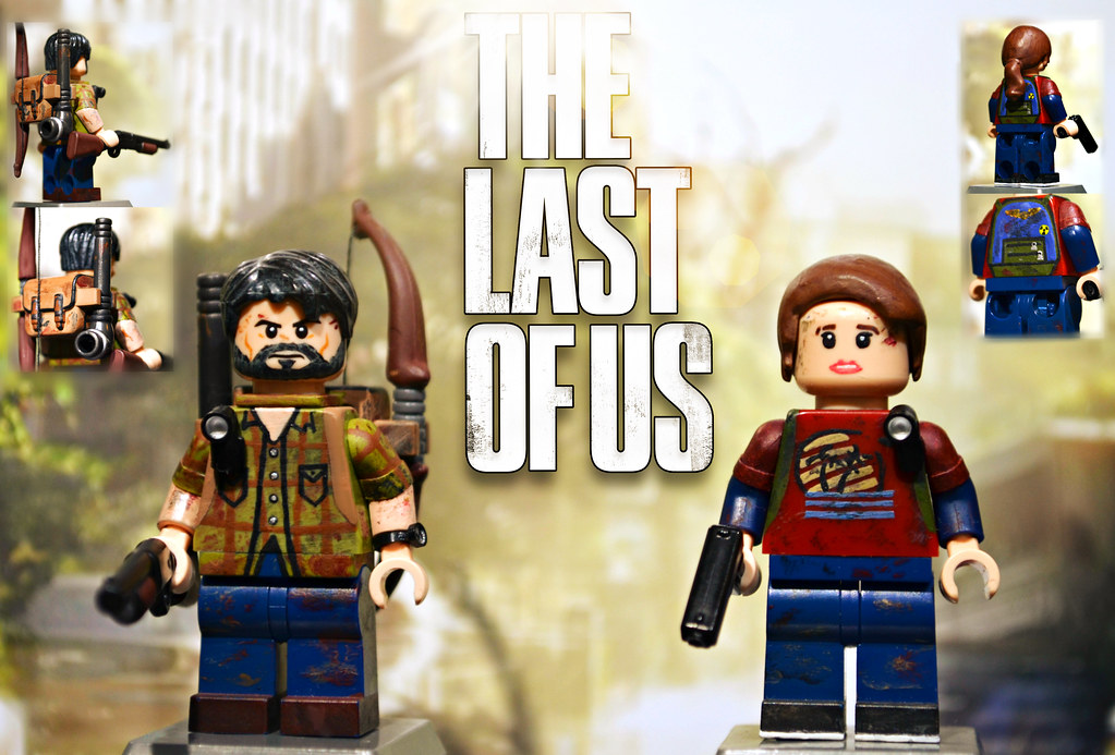 Lego The Last Of Us Joel Amp Ellie You Have Seen The