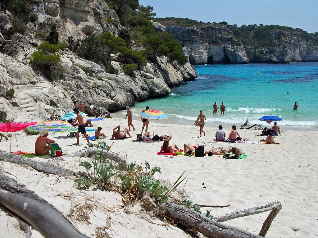 Playas nudistas de Bis Island