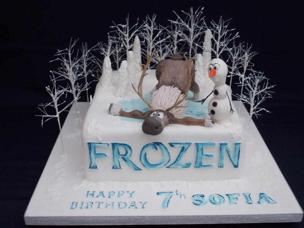 Olaf Cake Pan