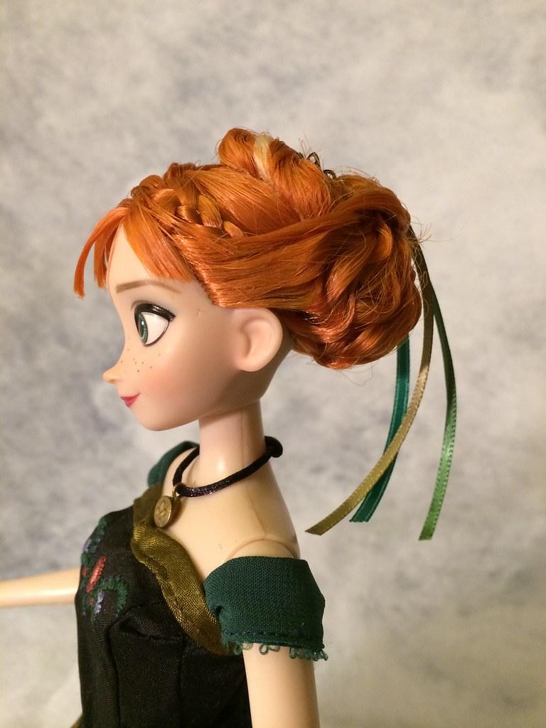 Custom Frozen Anna Coronation Doll Profile I M Using
