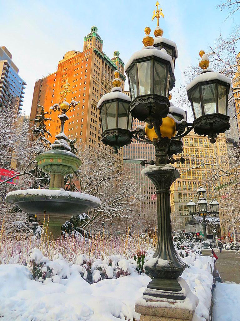 City Hall Park, New York City.