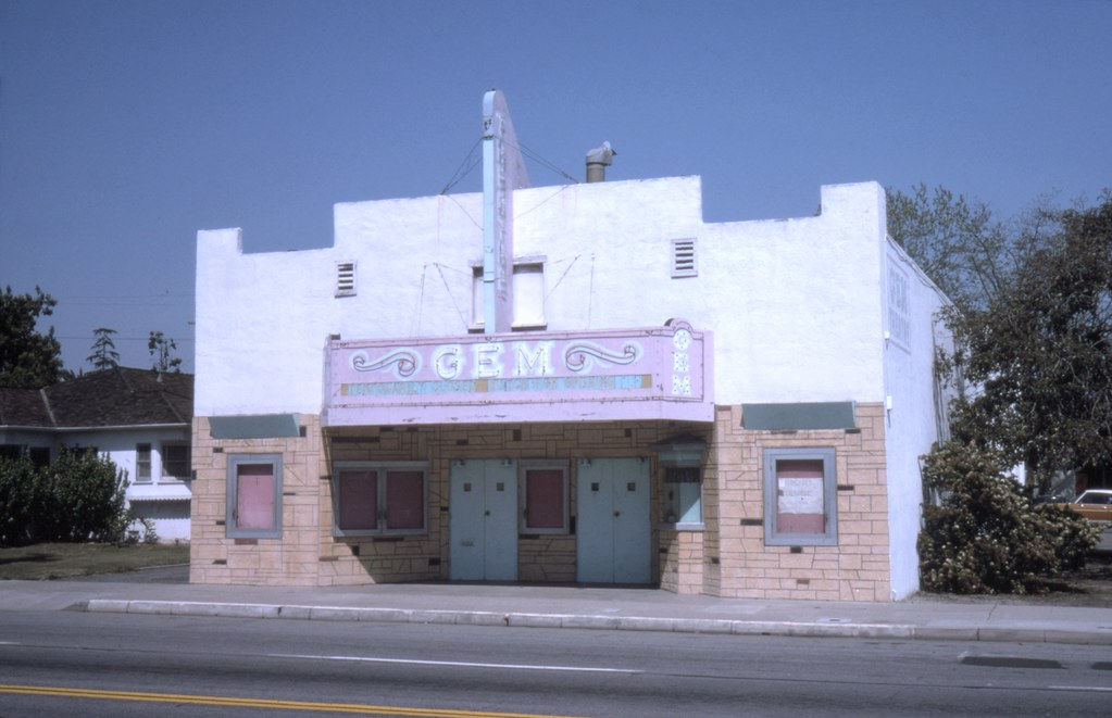 Gem Theater Garden Grove May 1975 There Are No Known