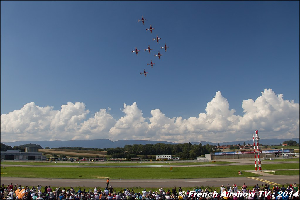 Swiss Air Force PC-7 TEAM AIR14 Payerne 2014 Canon Sigma France contemporary lens