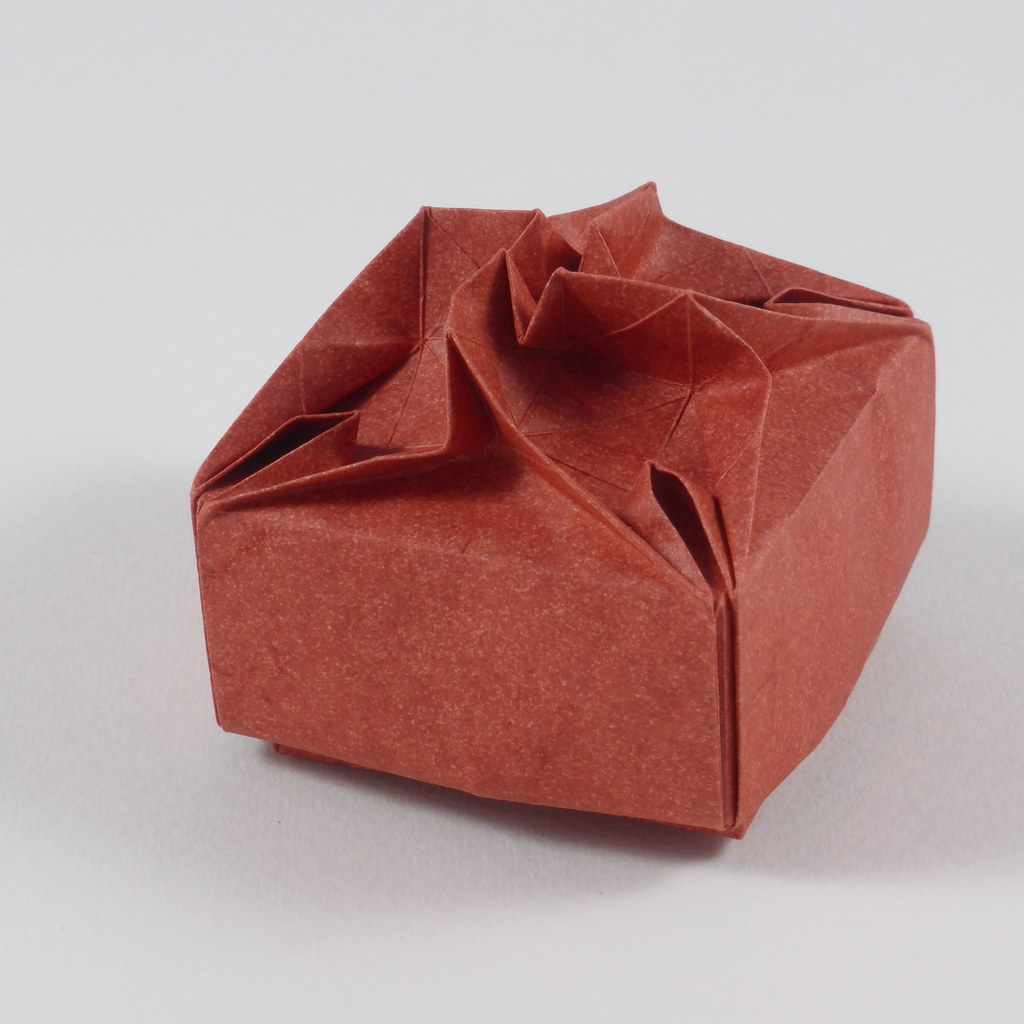 Nuclear Flower Box | This origami box is decorated with a ... - photo#40