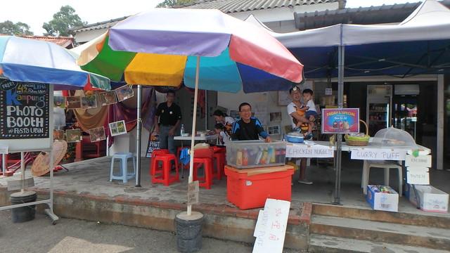 Fun at Uncle Lim's shop Pulau Ubin for Pesta Ubin 2016
