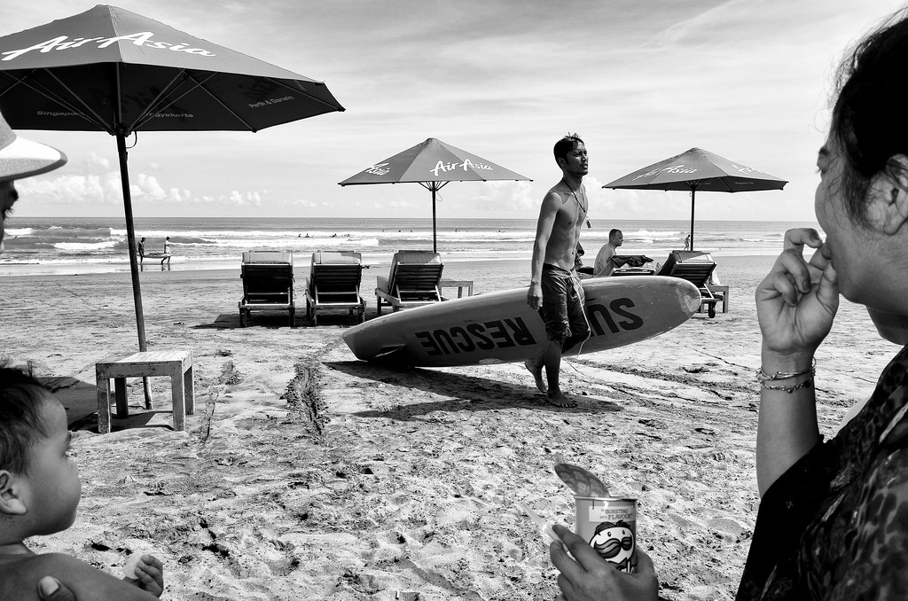 Seminyak beach, Bali.