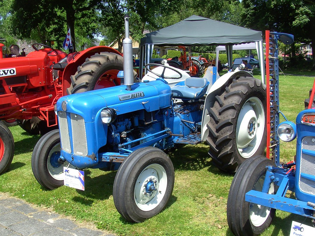1965 Fordson Dexta Tractor Seen At The Ot Amp To Oldtimerdag