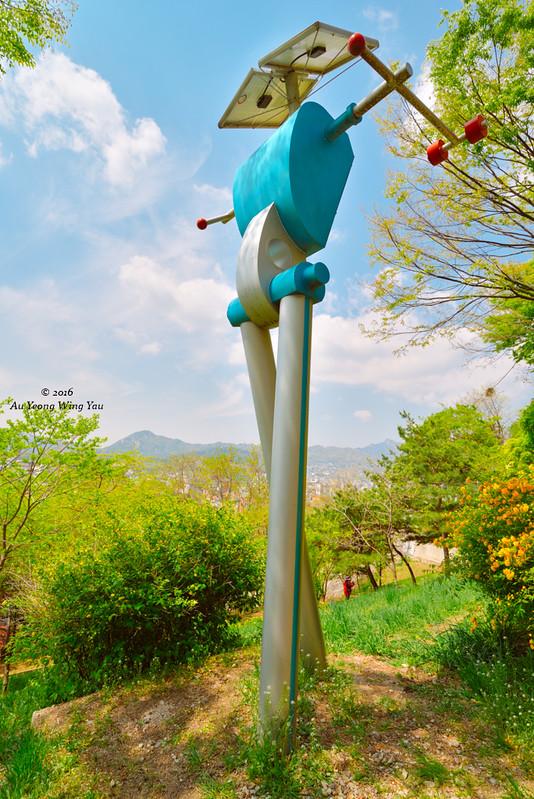 Naksan Park 2016: Robot Art Sculpture
