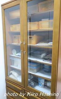 食器棚整理、食器移動後