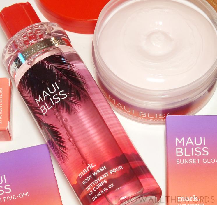 mark maui bliss shower gel and body butter