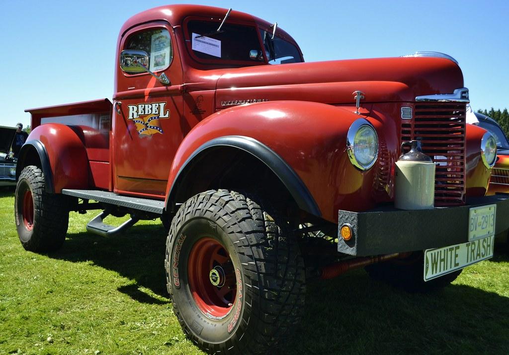 1948 international harvester kb 2 pickup truck 4x4 custo flickr. Black Bedroom Furniture Sets. Home Design Ideas