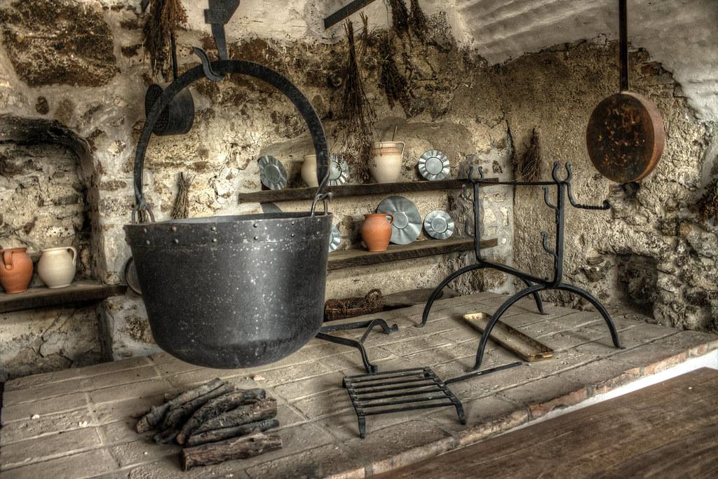 Modern Medieval Kitchen