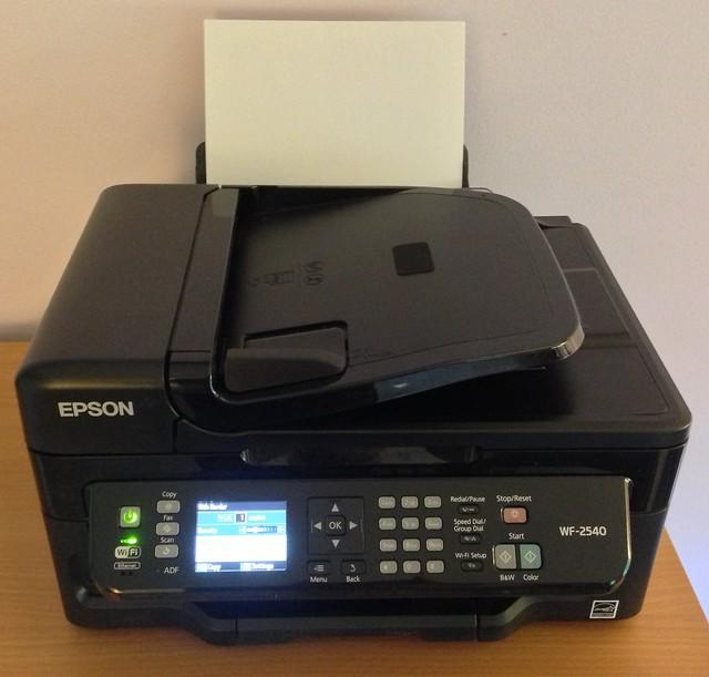 epson wf-2540 installation software