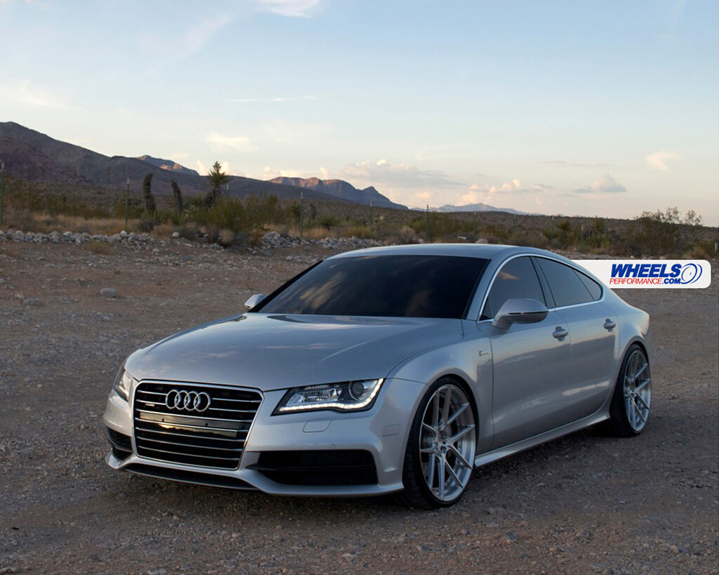 Our Client S Audi A7 With 21 Quot Adv 1 5 0 Mv 2 Forged Wheels