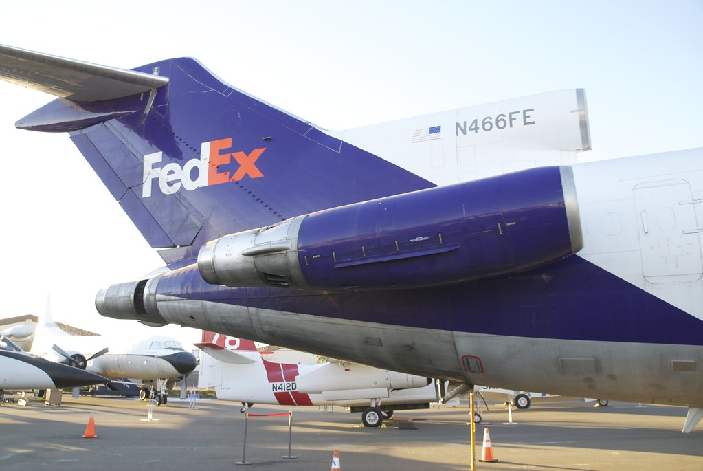 New Engine Cost >> Boeing 727 FedEx starboard, aft, fuselage, from engines to… | Flickr