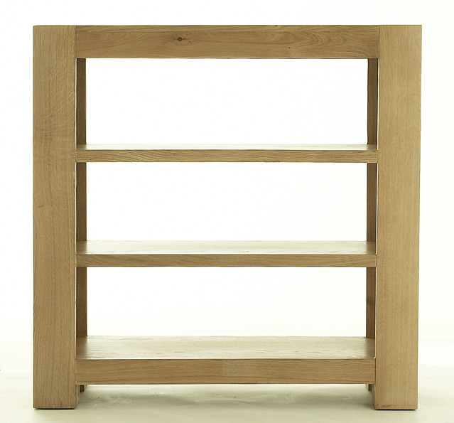 Chunky Oak Sml Bookcase Crafted Using High Quality Solid