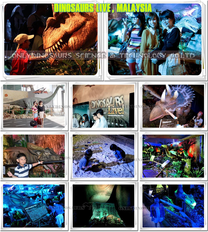 Dinosaur Exhibition in Malaysia