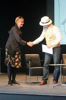 Anneli Furmark och Fredrik Strömberg.