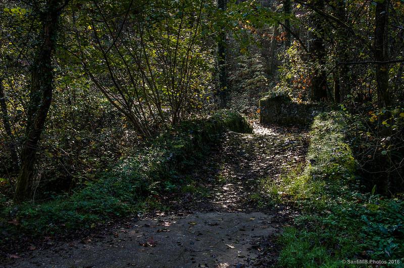 La luz en el puente de piedra
