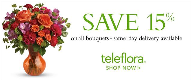 Teleflora coupons discounts