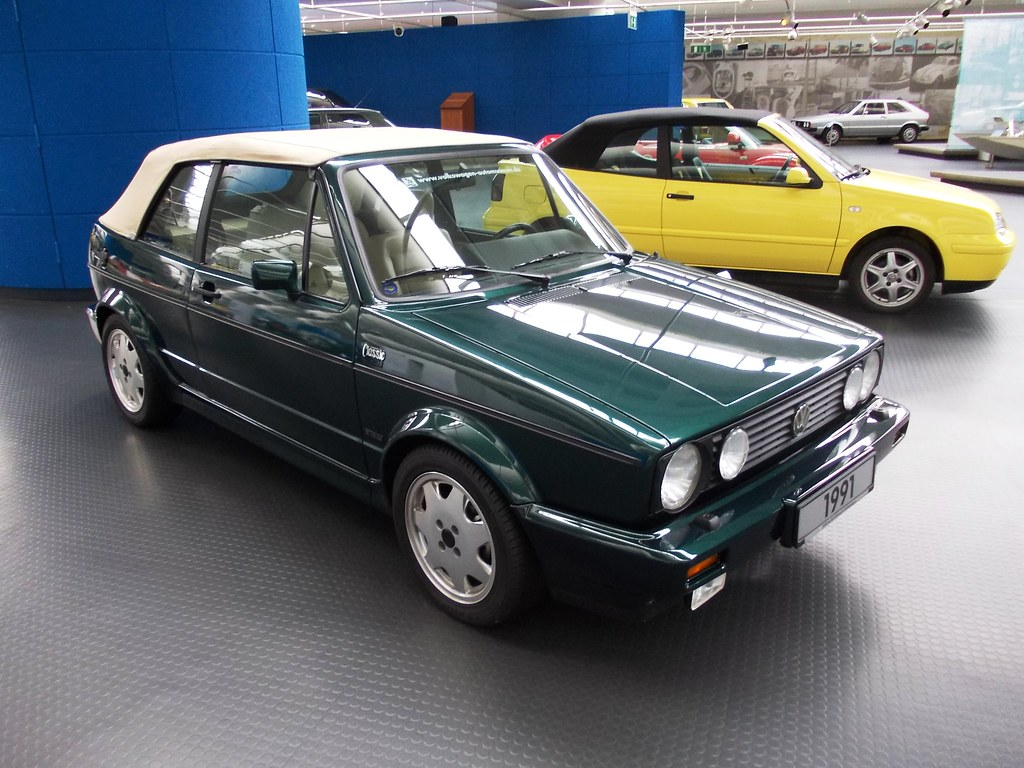 vw golf i cabrio 39 classic line 39 1991 volkswagen museum wol flickr. Black Bedroom Furniture Sets. Home Design Ideas