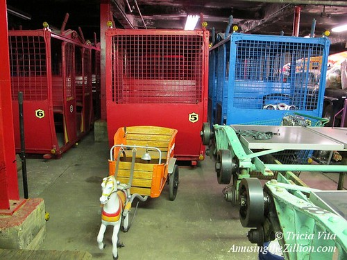Mangels Ponycart and Wonder Wheel Cars