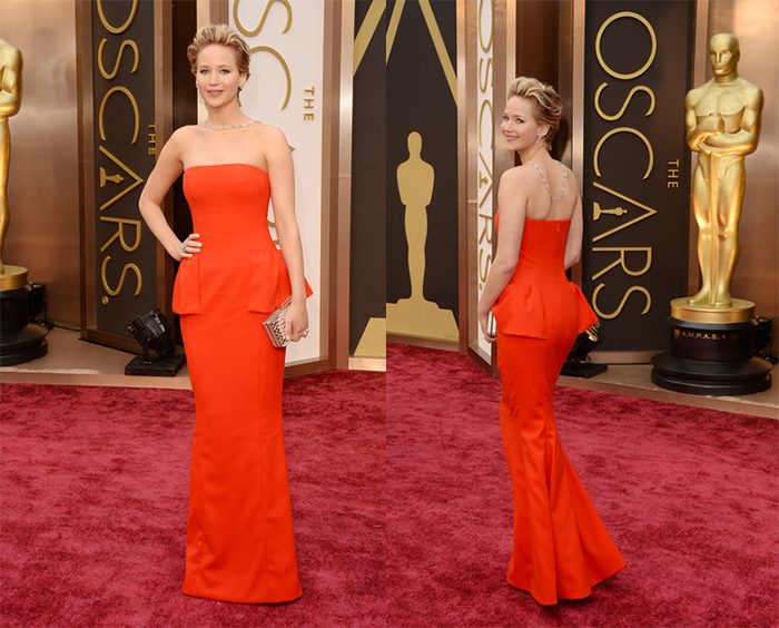 Oscars14-Jennifer Lawrence