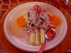 Taste the amazing Ceviche - Things to do in Lima