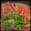 #CucinaDelloZio - #Homemade Steak'n'Peppers in Red #Wine - Fresh parsley