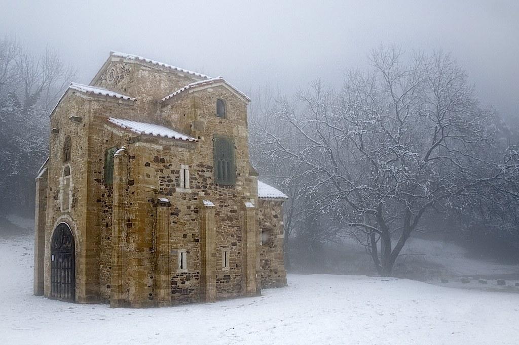 Nieve sobre San Miguel